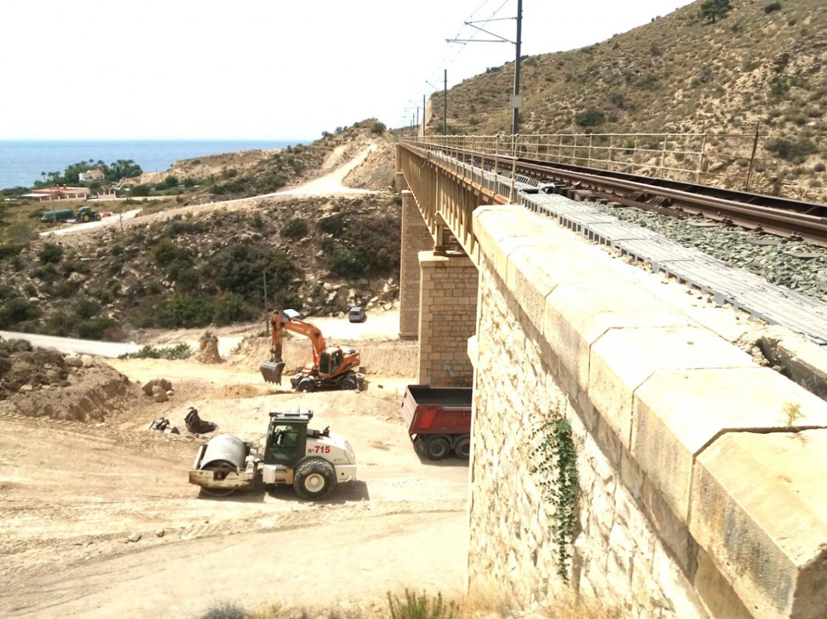 TRAM BARRANCO AIGUES CAMPELLO 2018