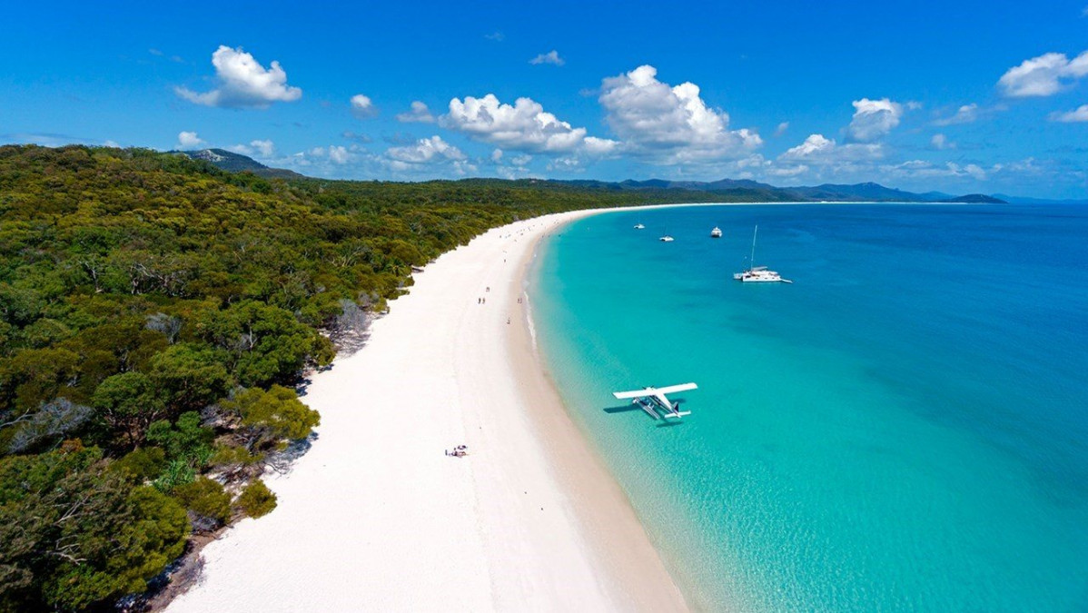 Playa de Whitehaven Beach en Australia 2018