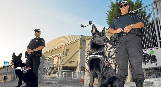 UNIDAD CANINA DE LA POLICIA LOCAL ALICANTE