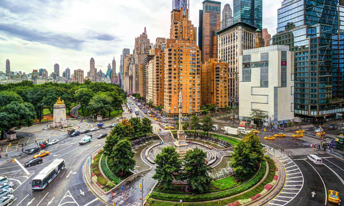 NUEVA YORK Columbus Circle New York 2018