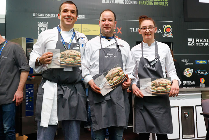 Francisco Diaz Castro mejor bocadillo de autor madrid fusion 2019