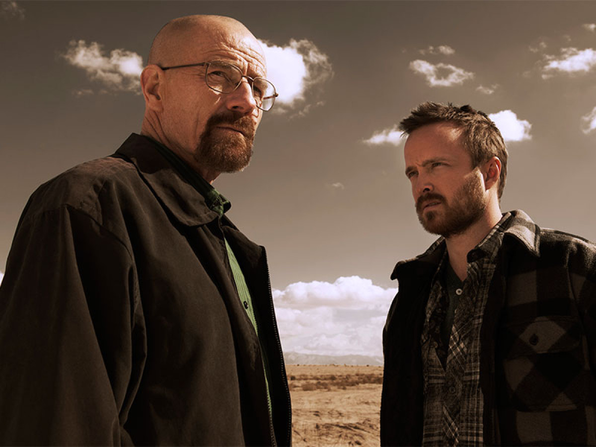 BREAKING BAD Bryan Cranston y Aaron Paul 2019