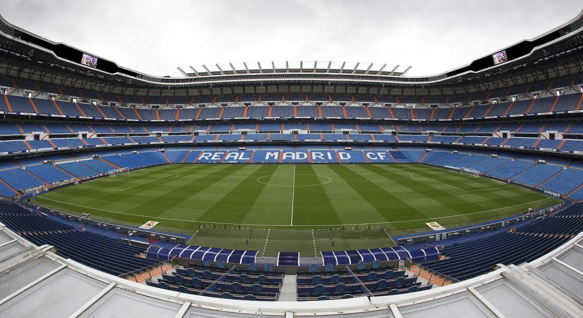 ESTADIO SANTIAGO BERNABEU 2019 MADRID