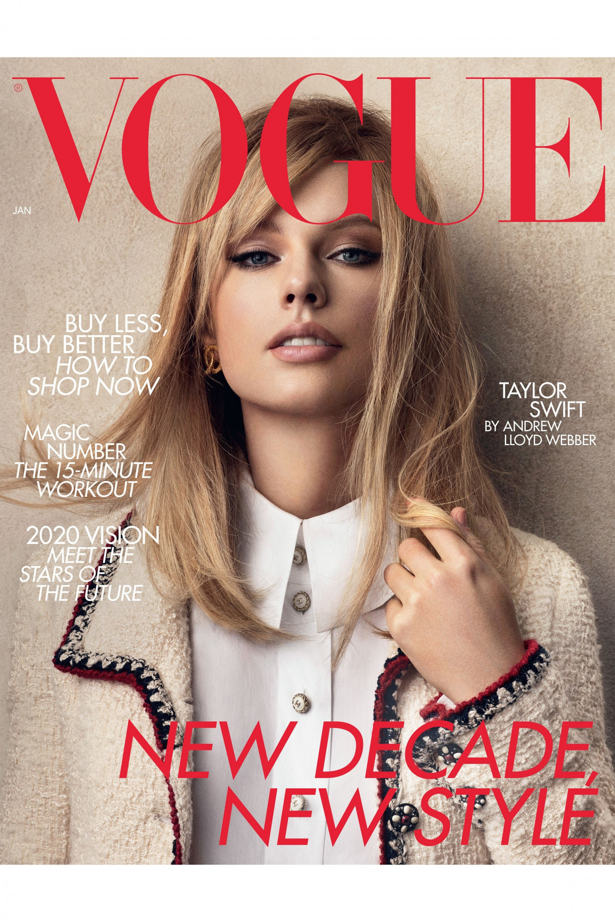 Taylor Swift REVISTA VOGUE 2019 DICIEMBRE