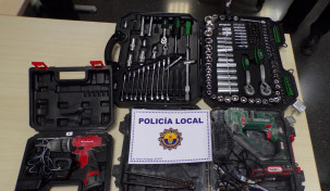 POLICIA LOCAL SAN VICENTE OBJETOS ROBADOS 14 ENERO 2020