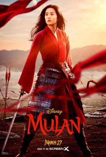 MULAN DISNEY CARTEL 2020