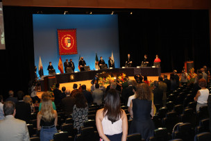 UNIVERSIDAD DE ALICANTE INAUGURACION CURSO 2020 SALON DE ACTOS