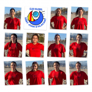 VOLEY PLAYA SANT JOAN 2021 EQUIPO CHICAS